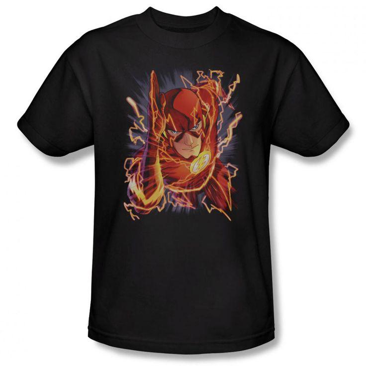 Pull Adult Ringer T DC Comics Shirt L