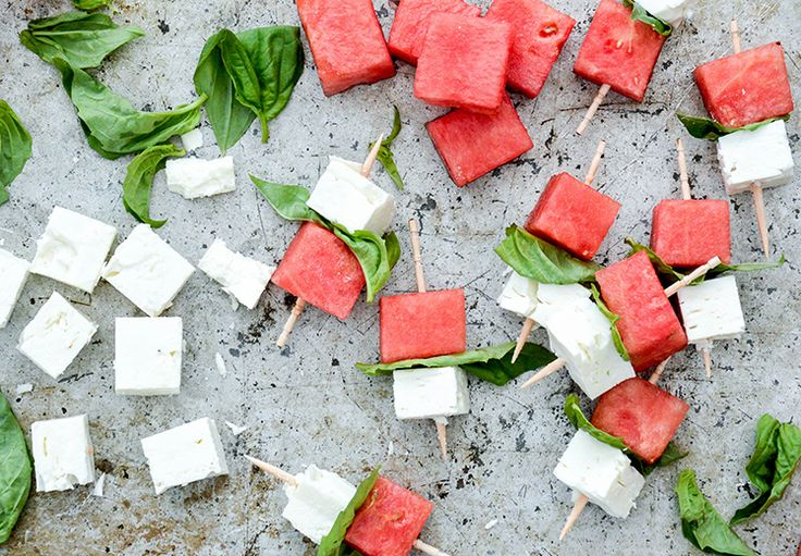 Watermelon-Feta Bites
