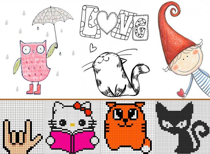 красивых веселые рисунки для личного дневника информация про