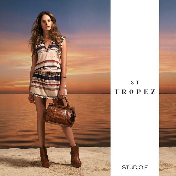 #StTropez, una colección que reúne lo mejor de un destino famoso por su estilo y singularidad. #StudioFCostaRica