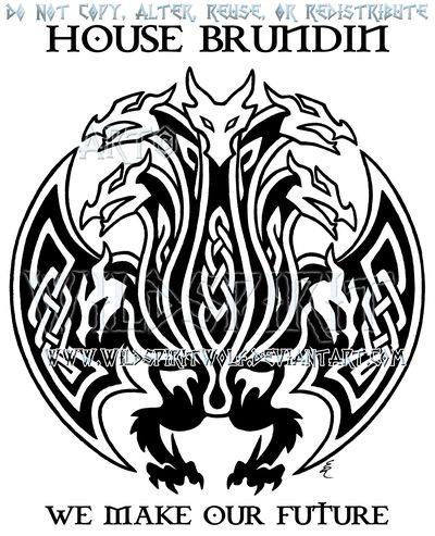 house brundin hydra sigil design by wildspiritwolf on deviantart tattoo pinterest dragones. Black Bedroom Furniture Sets. Home Design Ideas