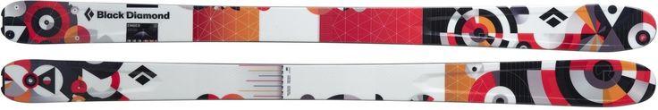 Skis 42814: New Women'S Black Diamond Ember Skis, All Mountain - 168Cm -> BUY IT NOW ONLY: $199 on eBay!
