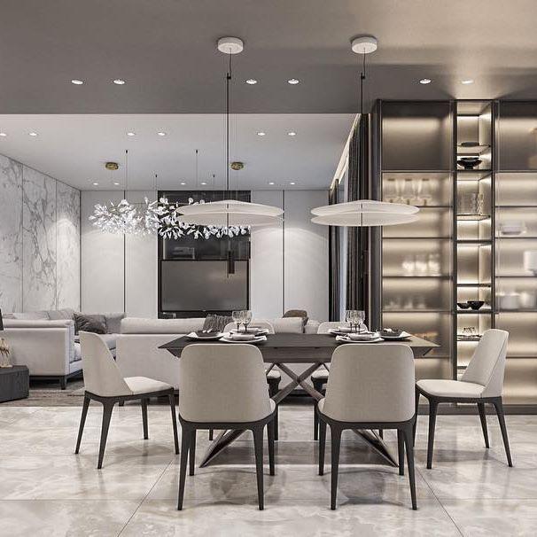 Monochrome apartment. Berlin, Germany. #iqosa #design #interior #interiordesign #architecture #monochrome #apartment #berlin #germany • pikore.co