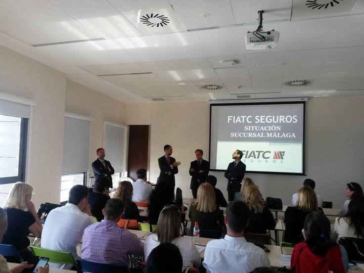 Presentación del campaña de #salud y #ahorro en FIATC Málaga http://www.fiatc.es/presentacion-de-las-campanyas-de-salud-y-ahorro-en-malaga