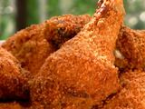 Buttermilk baked chicken :)  http://www.foodnetwork.com/recipes/patrick-and-gina-neely/buttermilk-baked-chicken-recipe/index.html