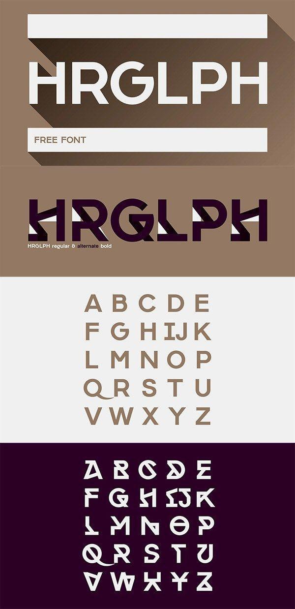 Hrglph Free Font