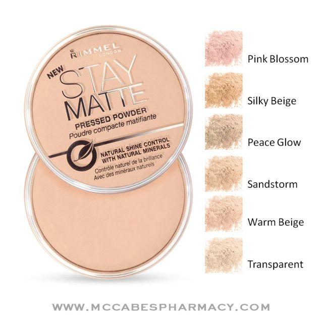 Rimmel stay matte powder review