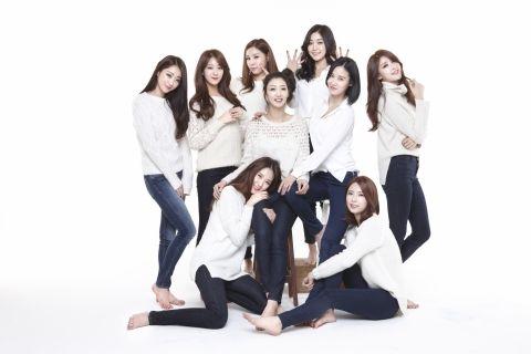 나인뮤지스, 이샘·은지 빠져 7인조로 활동…'졸업' 사진 공개