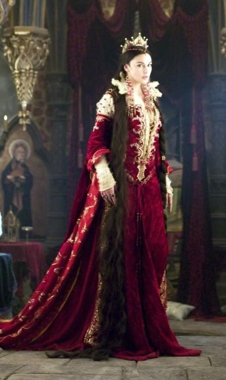 Brothers Grimm (2005) #Movie by Terry Gilliam with Monica Bellucci as Mirror Queen. #CostumeDesign by  Gabriella Pescucci
