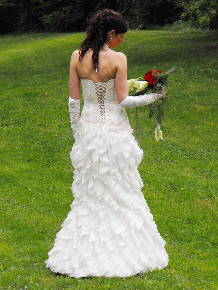Brautkleid Meerjungfrau ausgefallen