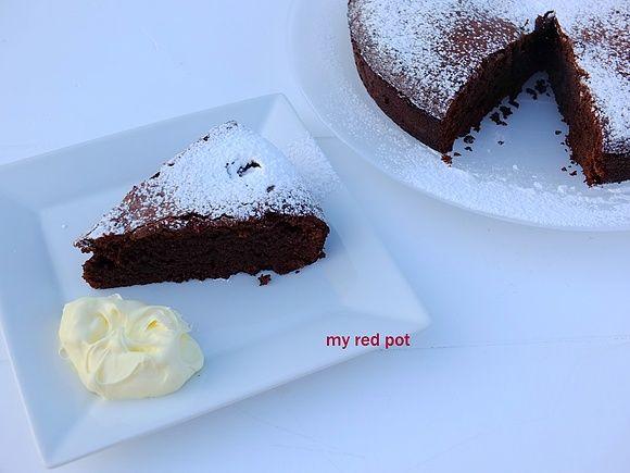 Włoskie ciasto czekoladowe