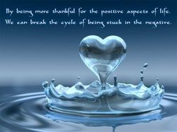 Breaking the cycle of negativity with gratitude