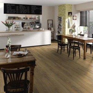 Series Woods 8mm Authentic Natural Rustic Oak Laminate Flooring