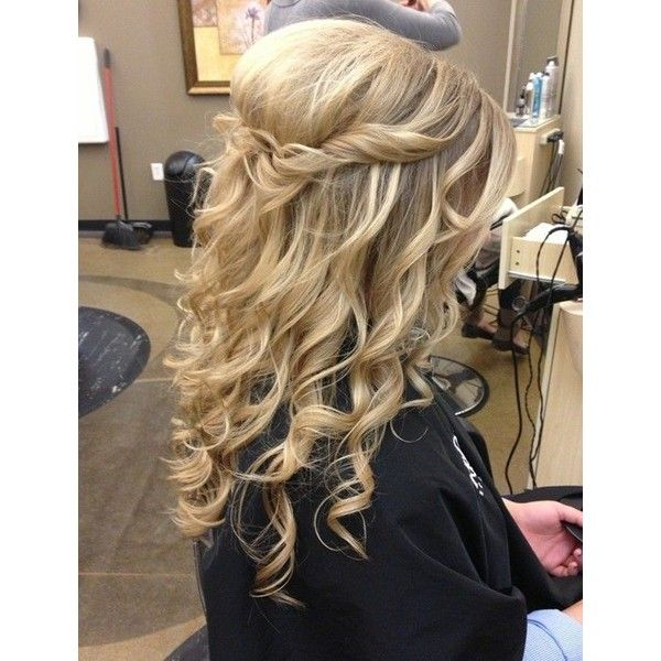 23 Prom Hairstyles Ideas for Long Hair PoPular Haircuts found on Polyvore
