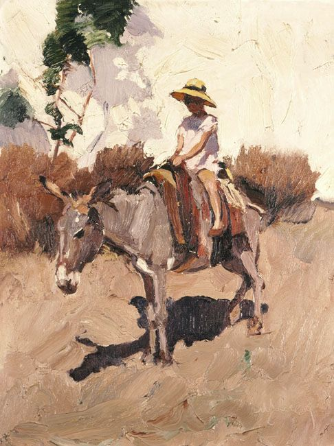 Nikolaos Lytras - The donkey
