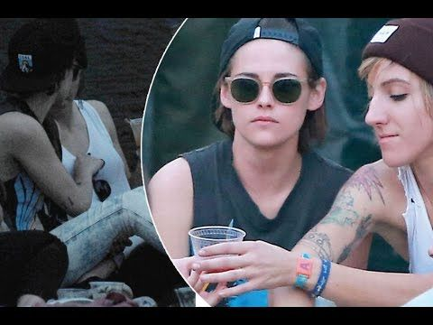 http://www.doitjewelry.com Kristen Stewart cosies up to rumoured girlfriend Alicia Cargile as she e...