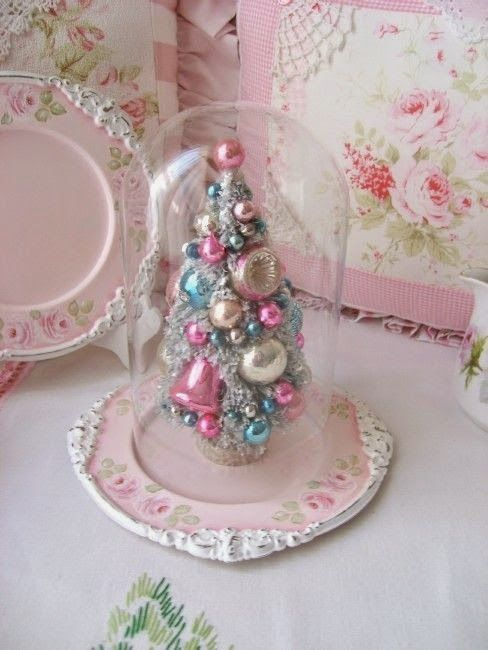 159 Best Shabby Chic Christmas Images On Pinterest Pink