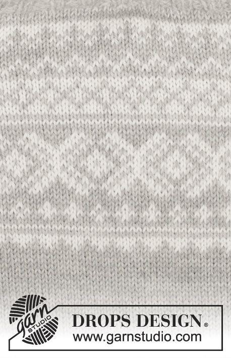 Strikket DROPS jakke og lue i Karisma med norsk mønster strikket ovenfra og ned. Str S - XXXL. Gratis strikkeoppskrifter fra DROPS Design.