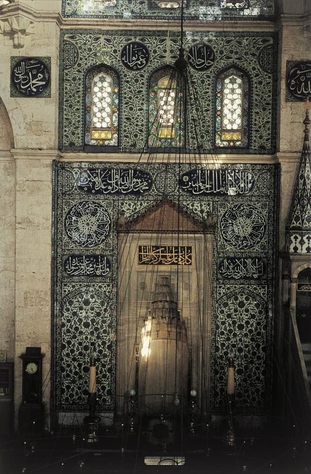 https://www.facebook.com/pages/Islamska-arhitektura-i-umjetnost/1403357959880645  Niche in The Sokollu Mehmet Pasha Mosque (Turkish: Sokollu Mehmed Paşa Camii) is an Ottoman mosque located in the Kadirga neighborhood of the Fatih district of Istanbul, Turkey.