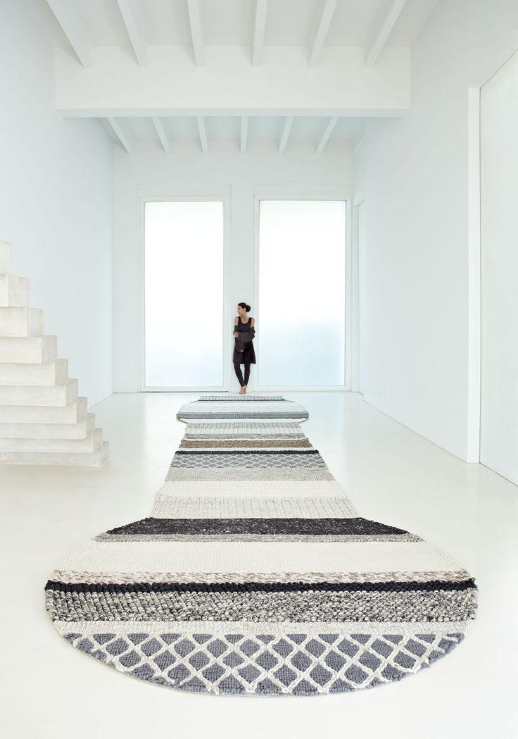 gan rugs, weniany dywan we wzory, mangas, Patricia Urquiola