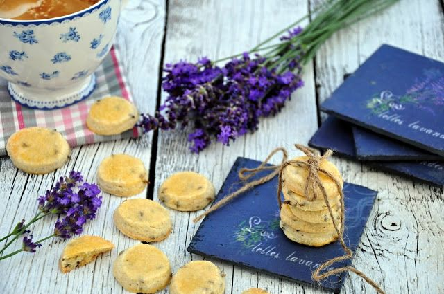 Sablés á la lavande - Levandulové sušenky