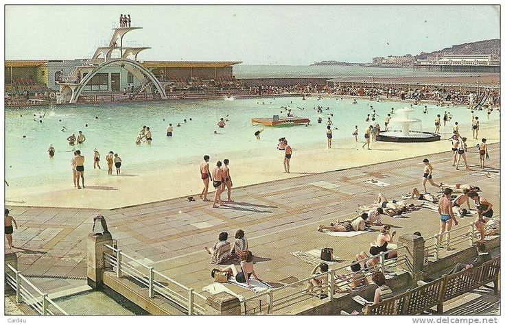 Well Look At That The Old Lido Later The Tropicana With The Grand Pier And Birnbeck Pier In