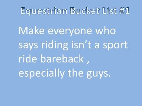 http://fourfaults.tumblr.com/ or ride with no stirrups or jump or ride through a buck/rear