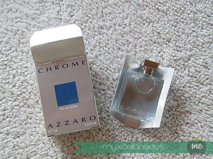 myxcellaneous: Chrome Azzaro Perfume for Men