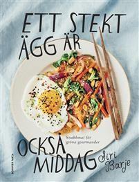 Ett stekt ägg är också middag är en bok om god grön mat. Här hittar du mat som går fort att laga, mat som går långsamt, sådant som funkar dygnets alla timmar och mat att laga när du vill imponera.Förutom schysta lättlagade recept på matiga mackor, grymma soppor, krämig risotto, stekta grönsaker och ugnsbakat på plåt får du tips på vilken soja du ska välja när du står där rådvill i affären framför raden av flaskor. Och hur du ska tänka för att svänga ihop den godaste lunchlådan, och vad några…