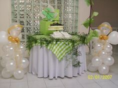 First Communion Balloon Decorations | First communion