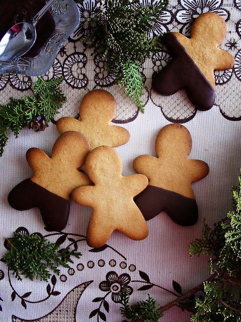 Receta de galletas muñeco de jengibre/Gingerbread man cookies recipe