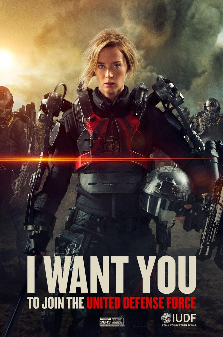 Edge of Tomorrow My queen, my inspiration.. The Angel of Verdun
