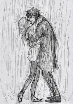 guy hugging girl drawing - Google Search