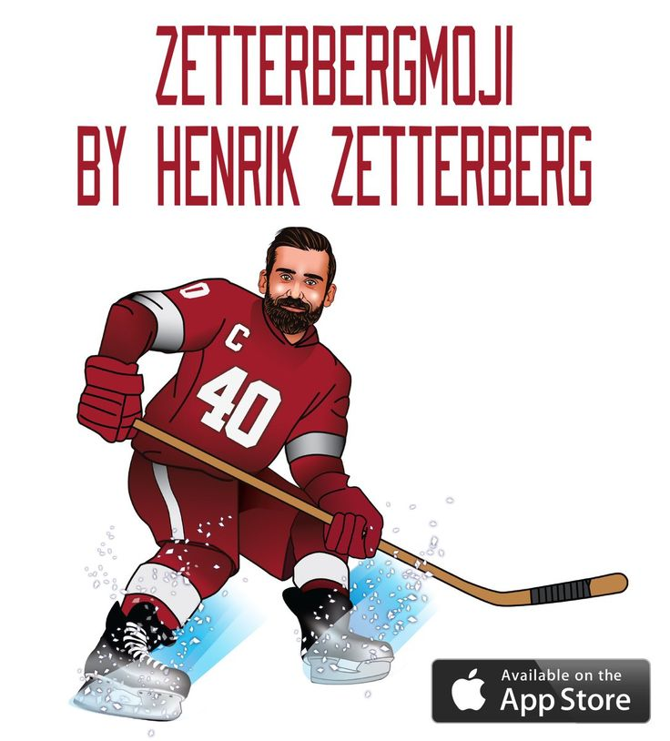 Emojis just got a lot cooler.  Download the #ZETTERBERGMOJI (iOS only) from the App Store for $1.99.
