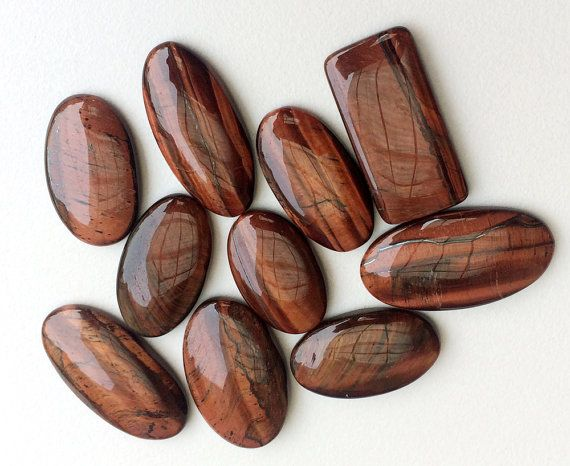 WHOLESALE 10 Pcs Huge Jasper Cabochons Oval & by gemsforjewels