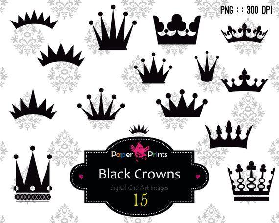 15 Crown Clip Art Crown Clipart Crown Silhouette Princess Clipart Clipart Black Crowns Recolor Crown Clip Art Clip Art Crown Silhouette