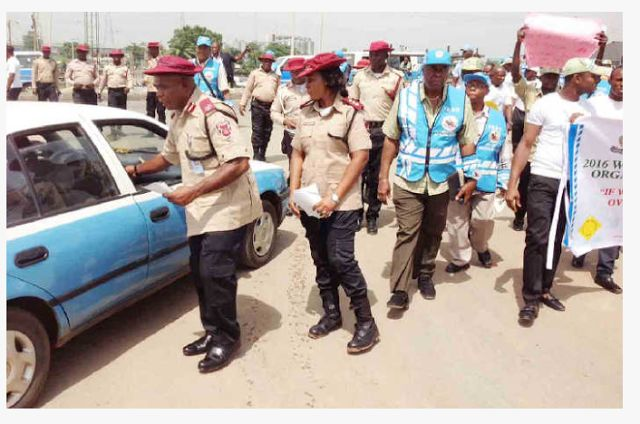 BREAKING NEWS: Jubilation as court removes FRSCs power to fine motorists  A federal high court in Lagos has declared void powers of the Federal Road Safety Corps (FRSC) to impose fines on motorists for traffic offences. John Tsoho a judge held that the commission could not turn itself into a court of law by punishing those who commit traffic offences. Tope Alabi a lawyer had approached the court to declare that only a court of competent jurisdiction could pronounce a person guilty under…