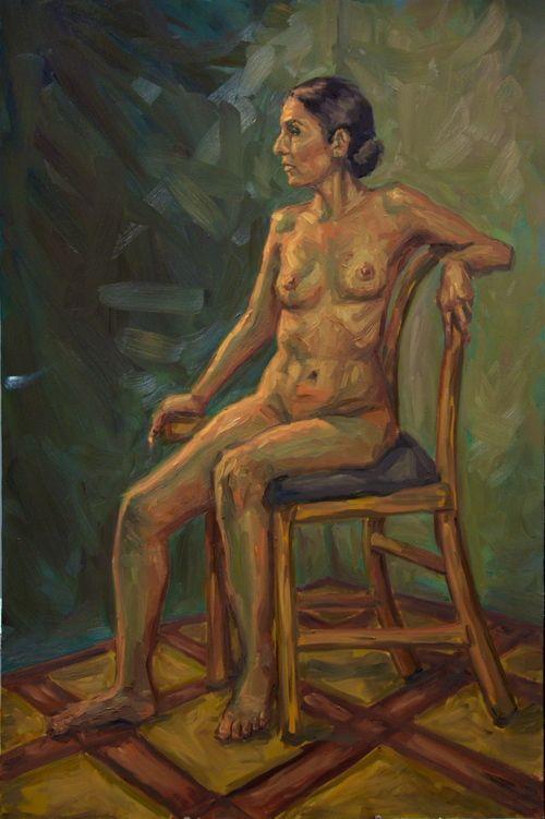 #oilpainting #figurepainting #nude #postimpressionism