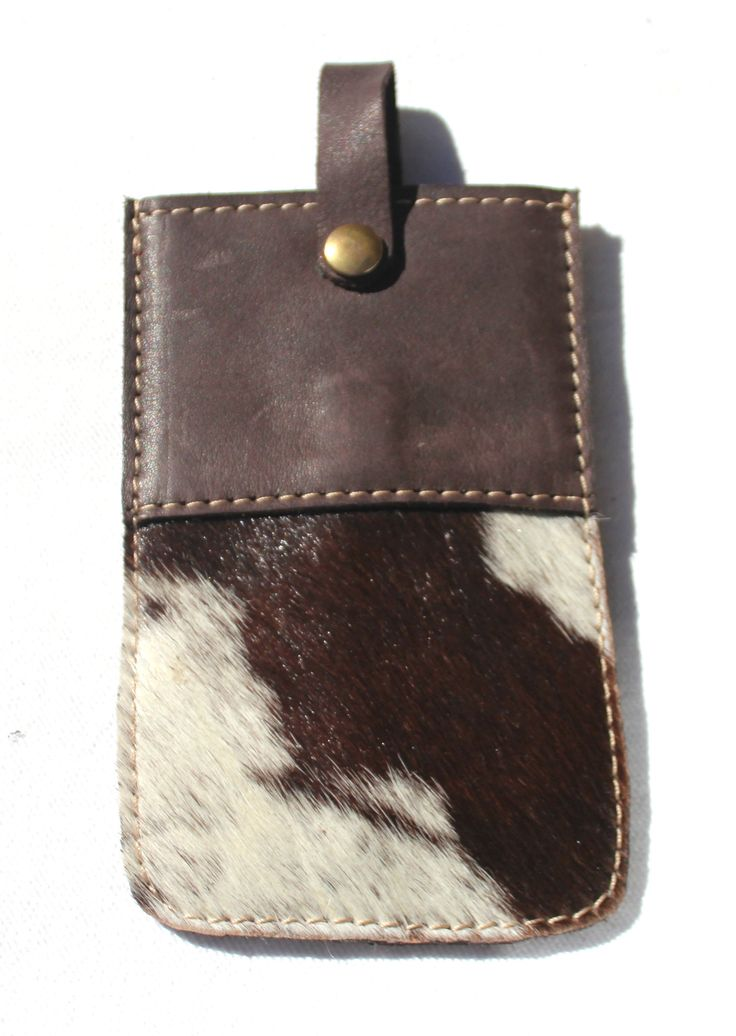 CELL PHONE CASE in cow fur