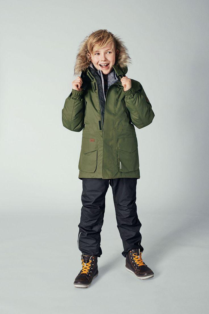 """Reima's """"Naapuri"""" jacket is perfect for both school and winter outdoor activities."""