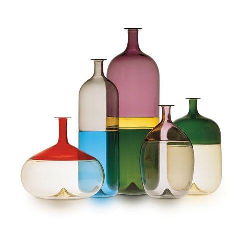 Tapio Wirkkala, Bolle Bottle, for Venini, 1968