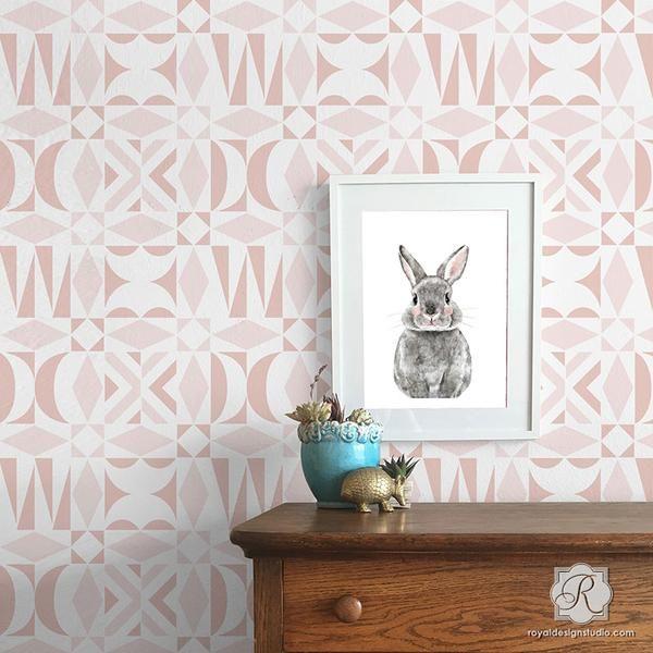 278 Best Nursery & Kid's Room Stencils Images On Pinterest