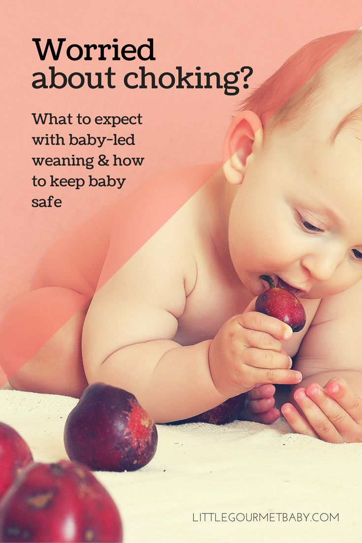 It's the number one worry for baby-led weaning parents: CHOKING. Learn the difference between choking and gagging and build confidence on how to keep baby safe.