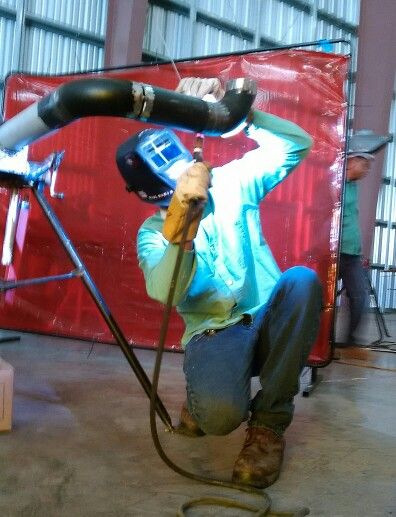 Raul Pipe welder in UPSi