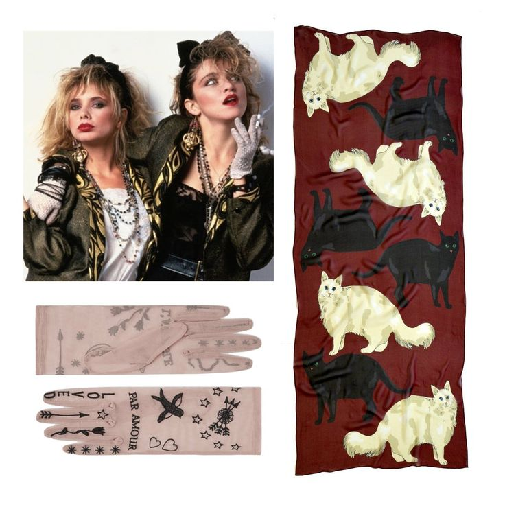 It used to belong to Jimi Hendrix - Desperately Seeking Susan, Karen Mabon Love Cats Cashmere Scarf and Gucci Gloves
