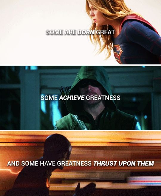 but be not afraid of greatness: #dc