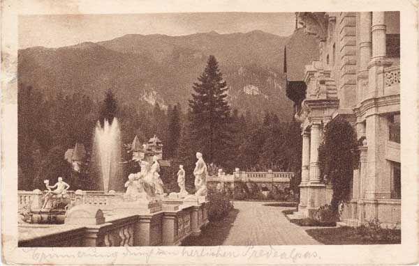 Romania, beginning of the 20th Century, Peles Castle, via webcultura.ro