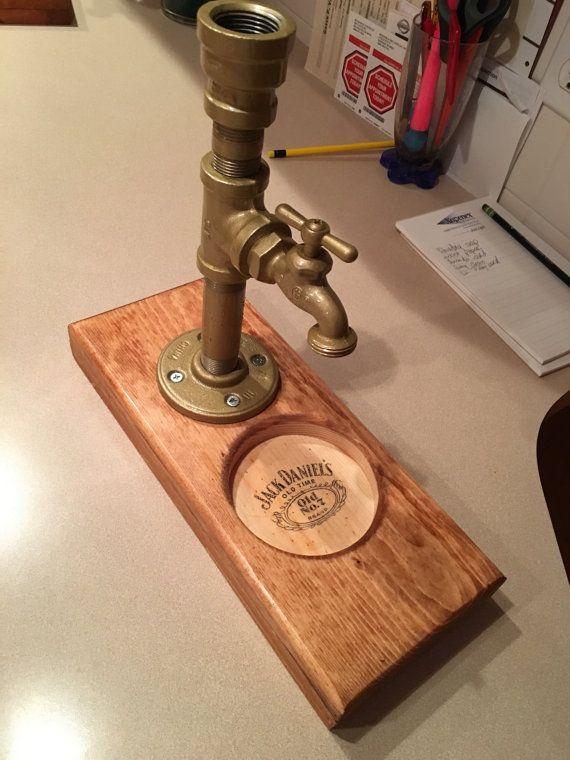 Liquor Dispenser by ZandGWoodworks on Etsy