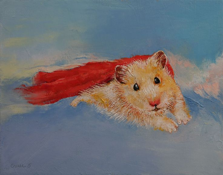 flying hamsters
