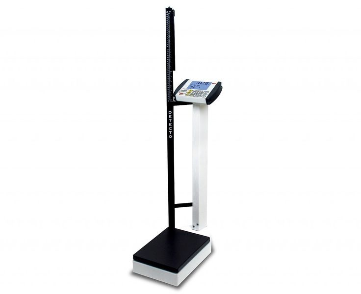 Digital Waist-Level Physician's Scale with MedVue
